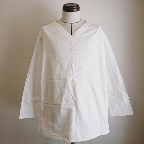 【Russian Military Sleeping Shirt V Neck DeadStock】ロシア軍 スリーピングシャツ Vネック DeadStock