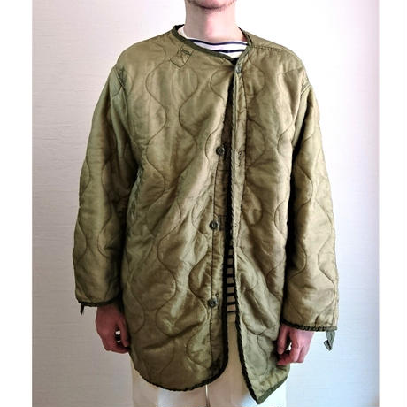 【US. Army M-65 Field Parka Quilting Liner Used】アメリカ軍 M-65 フィールドパーカー キルティングライナー Used