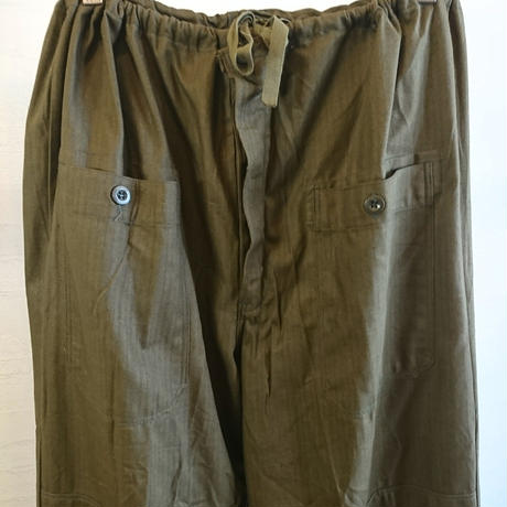 【Czech Army 80's Cook Pants DeadStock】チェコ軍 80's コックパンツ DeadStock