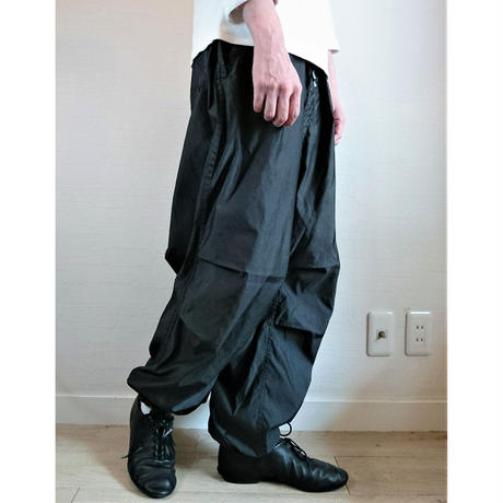 【US.Army Snow Camo Pants Remake Pocket DeadStock】アメリカ軍  スノーカモパンツ リメイクポケット 後染めブラック  DeadStock