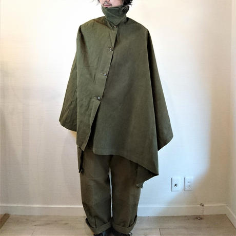 【Netherlands Army 50's Sniper Cape Used】オランダ軍 50's スナイパーマント Used