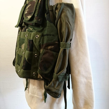 【British Army 90's AFV Crew Vest  DeadStock】イギリス軍 90's AFV クルーベスト  DeadStock