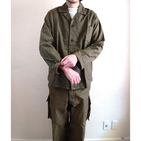 【Netherlands military Work Jacket DeadStock】オランダ軍  ワークジャケット  DeadStock