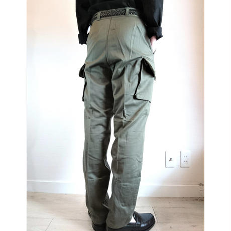 【French Army M-64 Cargo Pants DeadStock】フランス軍 M-64 カーゴパンツ DeadStock