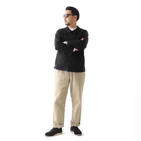 アニツイルモデル【ANK×Le Sans Pareil/ル サン パレイユ】コットンツイル トラディショナル カバーオール ブラック