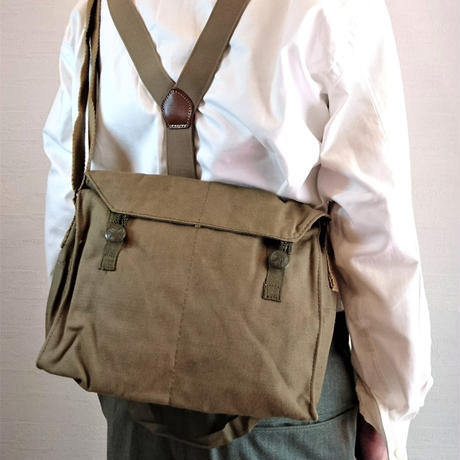 【Czech Army Canvas Shoulder Bag DeadStock】チェコ軍 キャンバスショルダーバッグ DeadStock