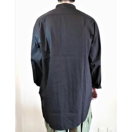 【Audience/オーディエンス】グリストーンW コットンナイロン高密度ギャバ ガーデニングコート ブラック