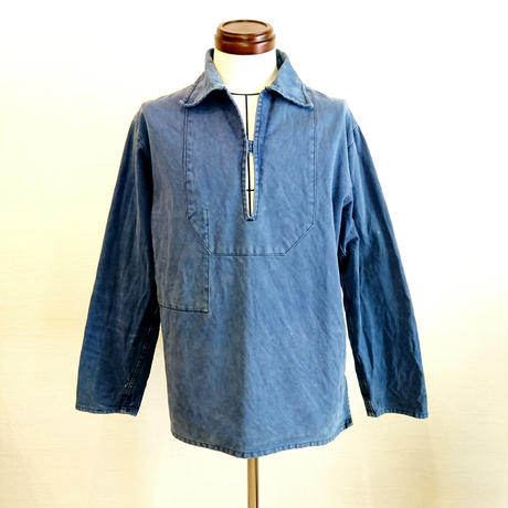 【French Fishermans Smock used】フレンチ フィッシャーマンズ スモック used