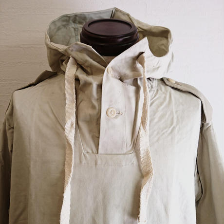 【Swedish Army Snow Anorak Parka DeadStock】スウェーデン軍 スノーアノラックパーカー DeadStock