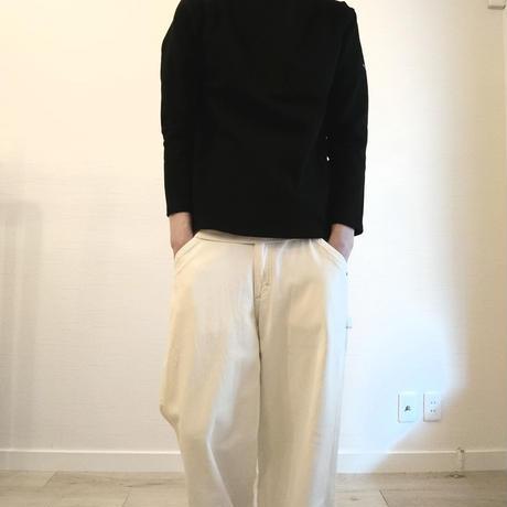 【SAINT JAMES/セントジェームス】OUESSANT SHIRT ウエッソン シャツ ブラック