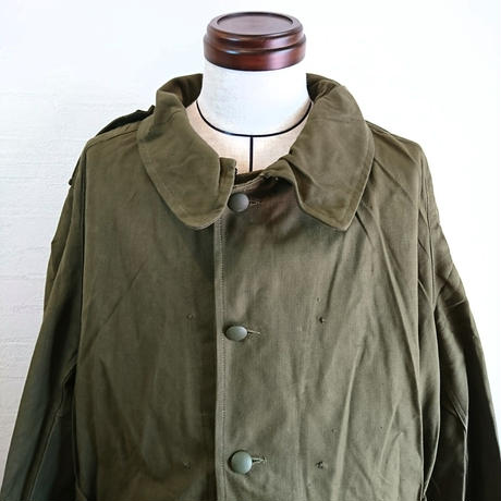 【French Army MotorCycle Coat  Deadstock】フランス軍  モーターサイクルコート  Deadstock