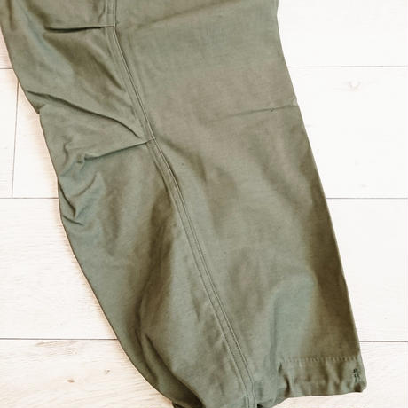 【US.Army M-65 Field pants Early Model 60´S Dead stock】 アメリカ軍 M-65 初期型  Small/Short  Dead stock