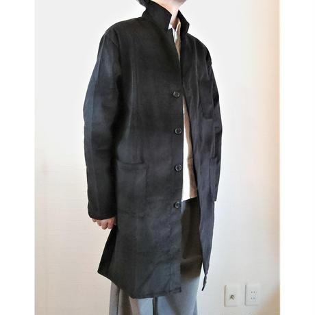 【Massaua/マッサワ】コーデュロイ ワークコート ブラック