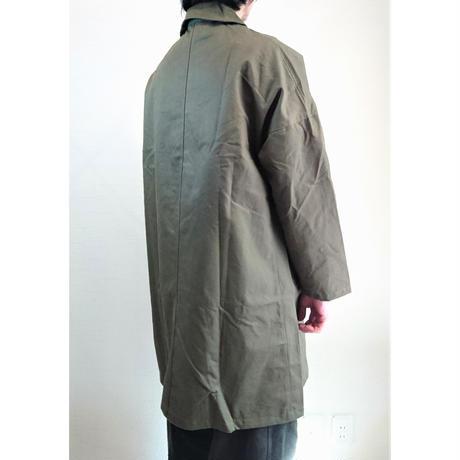 【Yarmo/ヤーモ】Cotton Drill Dust Coat  コットンドリル ダストコート オリーブ