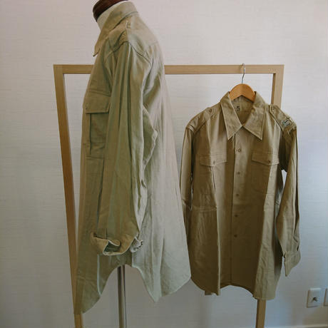 【French Military 50´S~60´S  Work Shirt Dead Stock】フランス軍50´S~60´Sワークシャツ Dead Stock