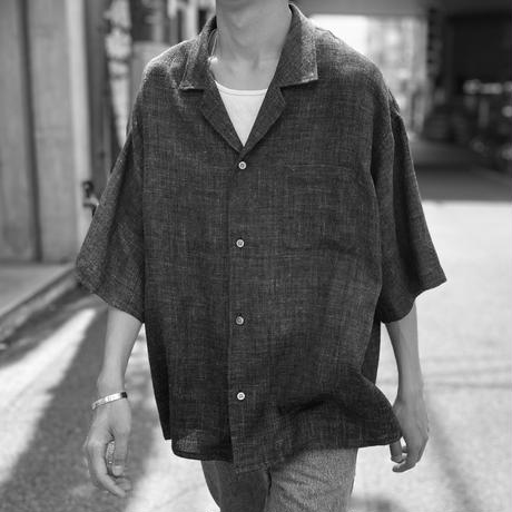 "SEVEN BY SEVEN "" OPEN COLLAR SHIRTS S/S "" Glen check"