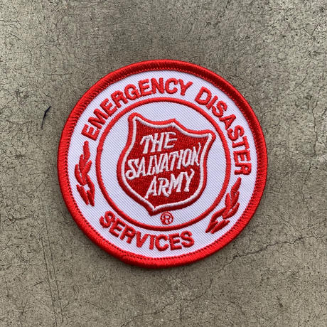 "THE SALVATION ARMY "" Emergency Patch """