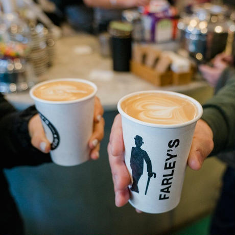 """FARLEY'S COFFEE """" CAFFEINE Sweat Hoodie """""""