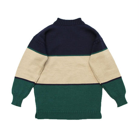 """BROWN by 2-tacs × GUERNSEY WOOLLENS """" TRADITIONAL WODE BORDER """""""