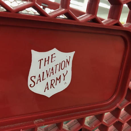 "THE SALVATION ARMY "" Shield Logo Patch """