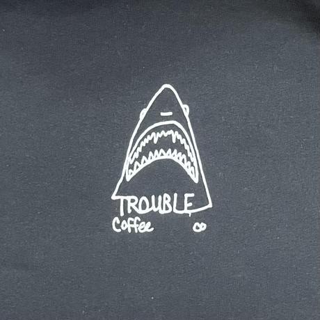 "TROUBLE COFFE CO. "" JAWS Sweat Hoodie """