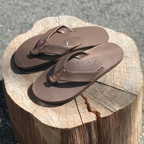 "Rainbow Sandals "" Single Layer Leather "" Men's"