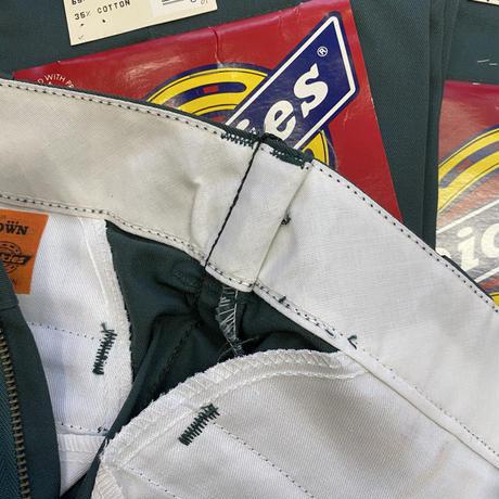 "DEADSTOCK "" 1980-90's Dickies 874 "" Green"