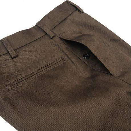 """BROWN by 2-tacs """" TAPERED SLACKS"""""""