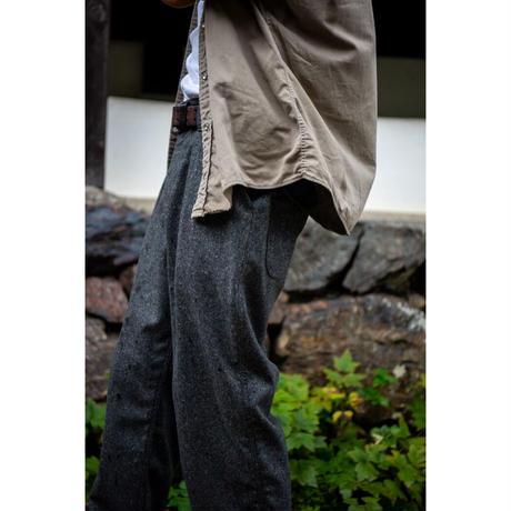 "Willow Pants "" P-008 "" Nep Tweed Gray"