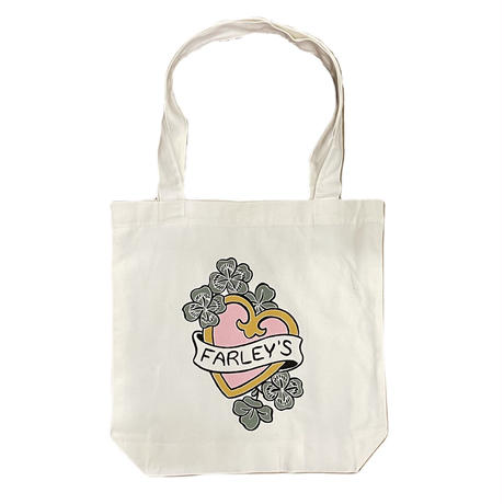 """FARLEY'S COFFEE """" Official Logo Tote """""""