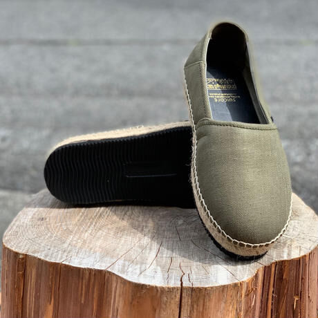 """BROWN by 2-tacs """" ESPADRILLES """" Olive"""