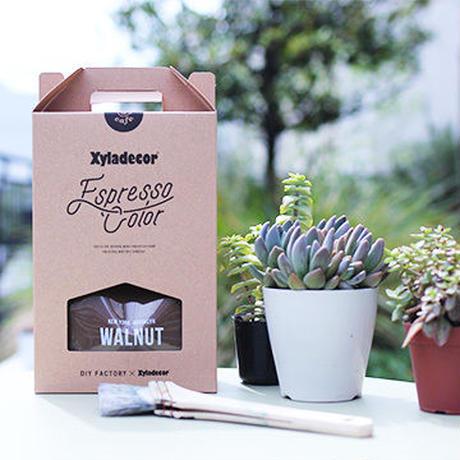 DIY FACTORY cafe キシラデコール エスプレッソカラー