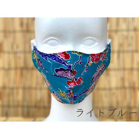 【沖縄限定】紅型 布マスク(AmazonPay全品対応)