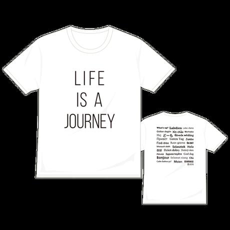 【復刻版】LIFE IS A JOURNEY Tシャツ/ホワイト