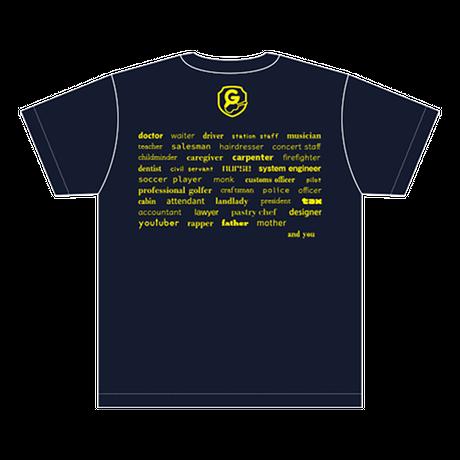 SURVIVE Tシャツ/ネイビー