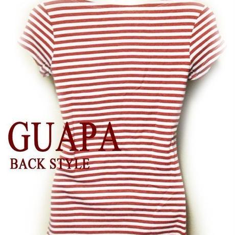 REDボーダーTシャツ