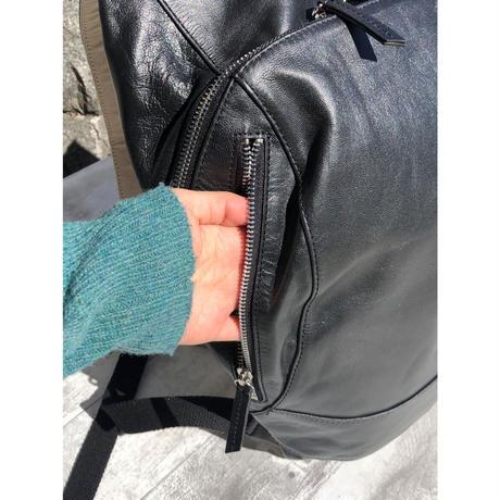 【マスクケース付き】お豆リュックⅡ レザーリュック(本革)
