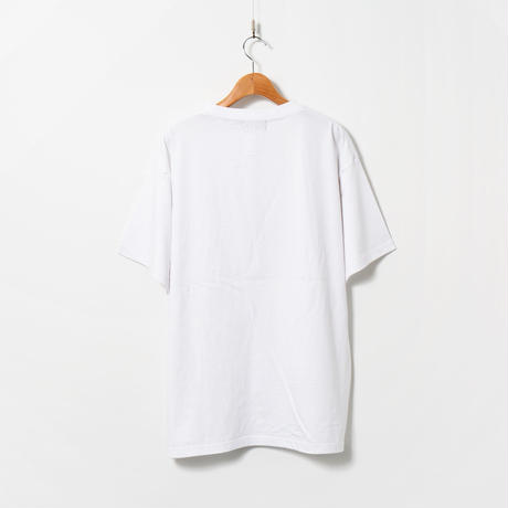 Print T-shirt / White /  sphinx