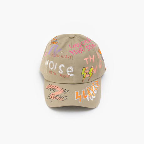 Hand Painted Cap / No.24
