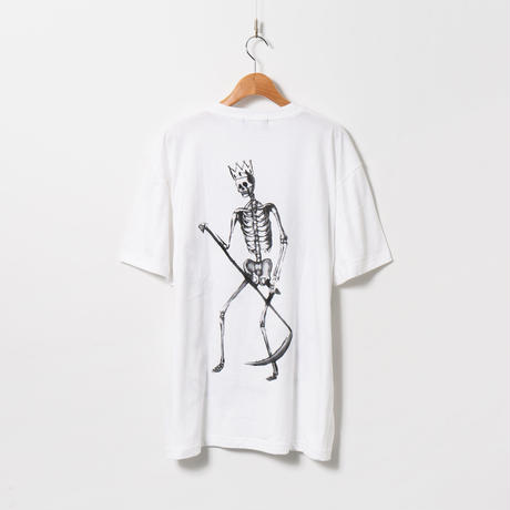 Hand Painted T-sh / White / No.59