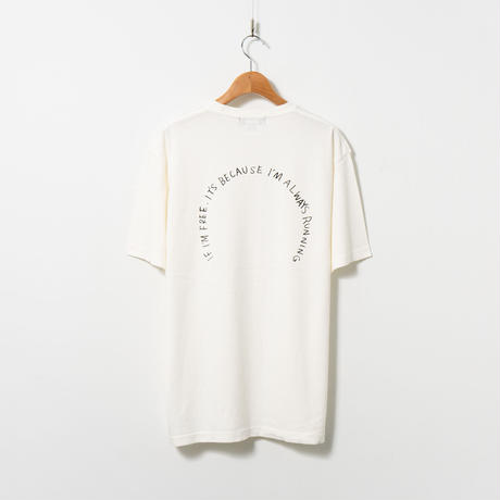 Print T-shirt / Vintage Off-white / No.3