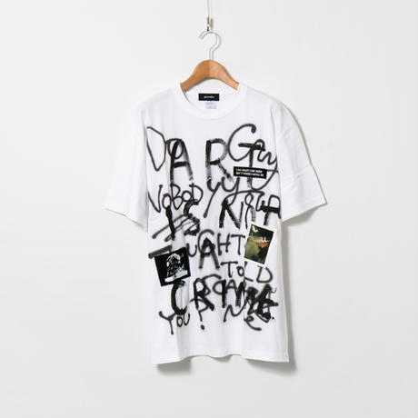 Hand Painted T-sh / White / No.148
