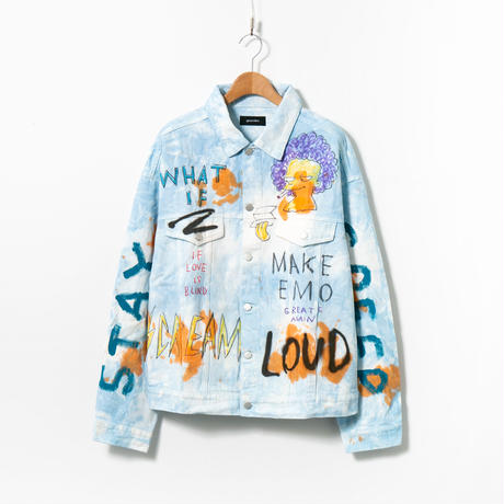 Custom Denim Jacket / No.4 / Blue