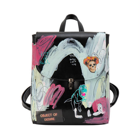 Real Painted Backpack / No.1