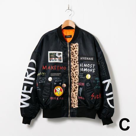 Custom MA-1 / No.1 / Black / Size:2