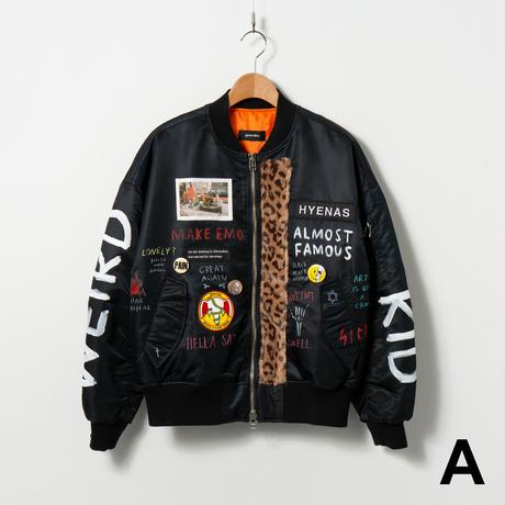Custom MA-1 / No.1 / Black / Size:1
