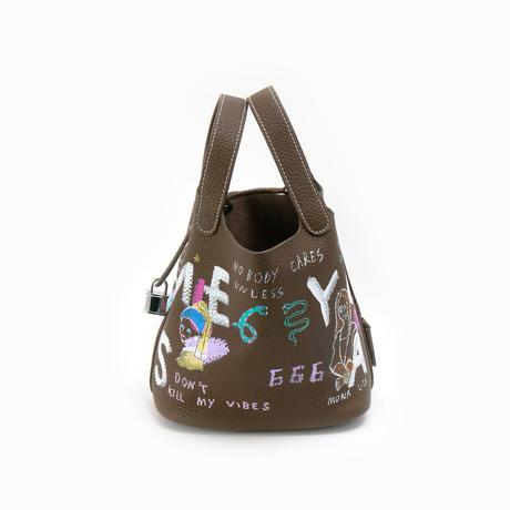 【納期:約1週間】Cube Bag / size S / No.27
