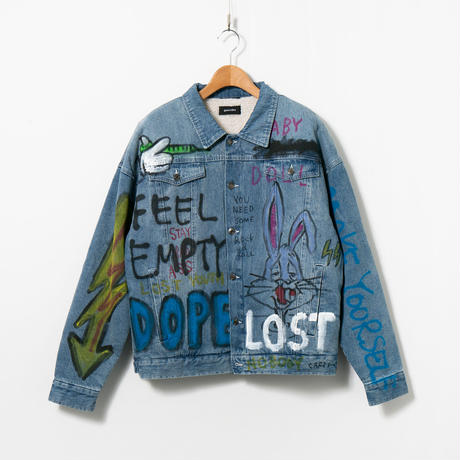 Custom Denim Jacket / No.9