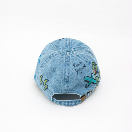 Hand Painted Cap / No.21