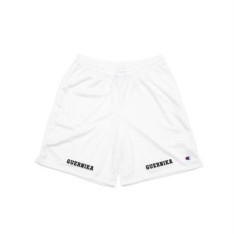 Mesh Shorts / No.1 / White